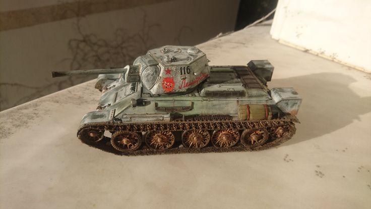 T 34 Battle of Stalligrant 1/35