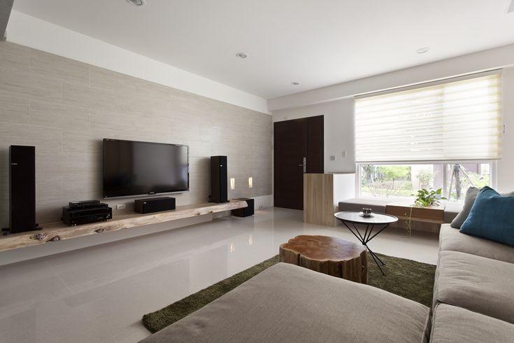 living tv wall