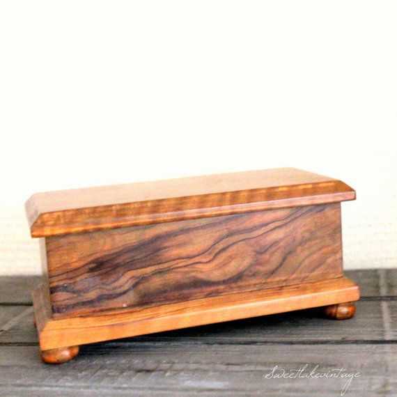 Handmade Wood Jewelry Box Plans - Downloadable Free Plans