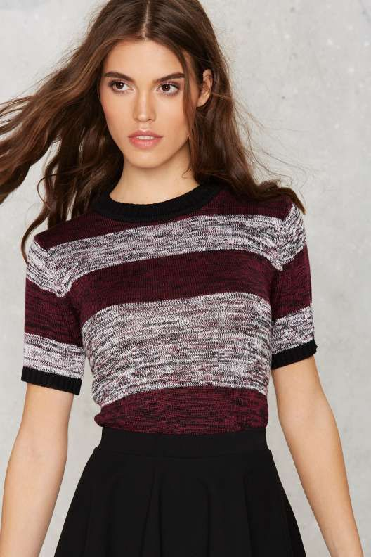 All the Stripe Reasons Knit Sweater - Sweaters