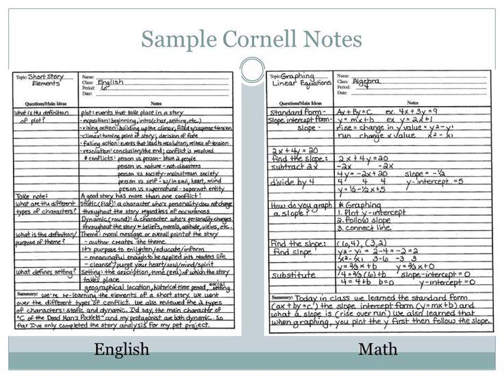 Best 25+ Cornell notes example ideas on Pinterest Cornell image - sample cornell note