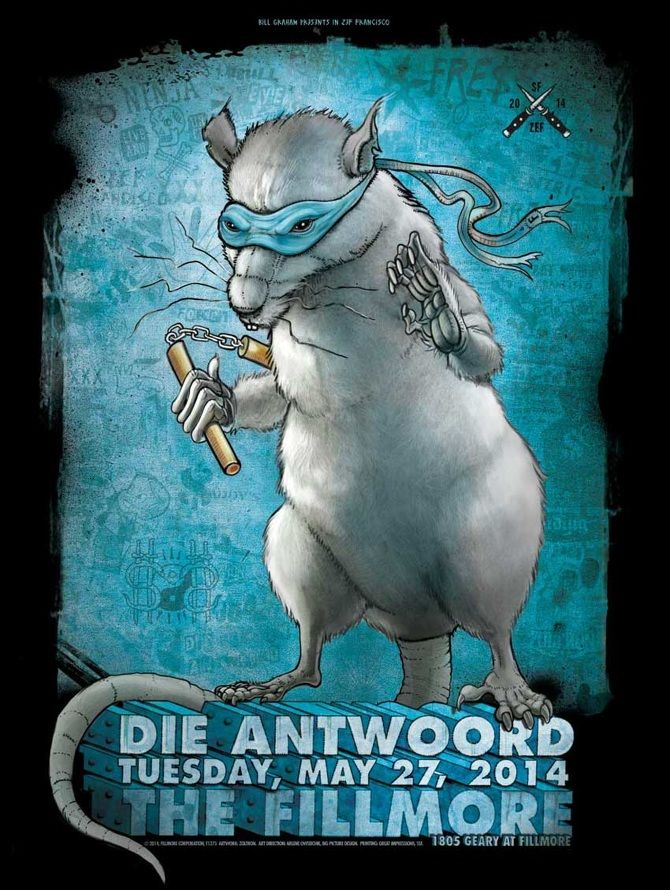 die antwoord, fillmore sf - zoltron