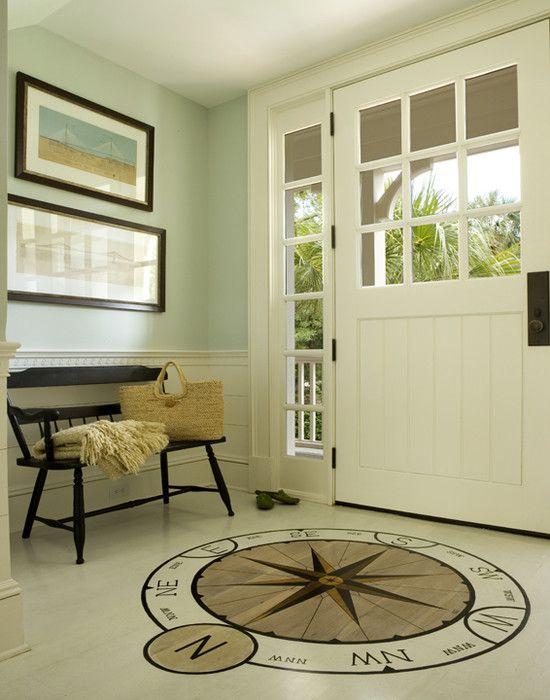 Coastal Foyer -- Buffington Homes South Carolina's Design
