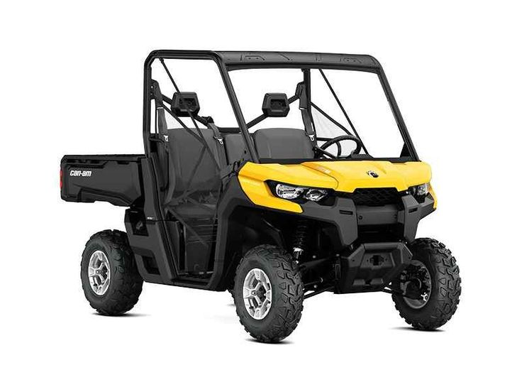 New 2017 Can-Am Defender DPS HD10 ATVs For Sale in Michigan. 2017 Can-Am Defender DPS HD10, 2017 Can-Am® Defender DPS HD10 COMFORT AND CONTROL Take control with the Defender DPS that features comfortable Dynamic Power Steering (DPS), lightweight wheels and tires, adaptable storage, Visco Lok and more to make your job easier. Features may include: HEAVY-DUTY ROTAX V-TWIN ENGINES The Defender DPS package offers two very capable true-work powerplant options. The 72-hp Rotax HD10 V-Twin is…