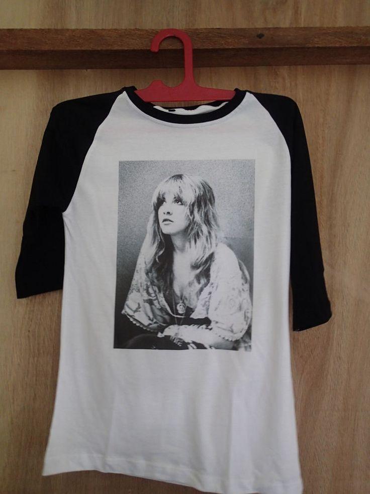 stevie nicks shirt tshirt t-shirt fleetwood mac rumours vintage photo unisex  #Unbranded