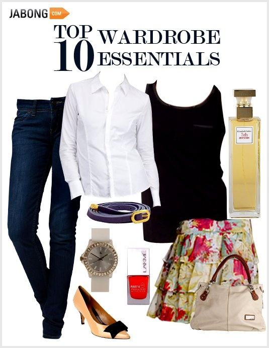 TOP 10 #Wardrobe Essentials only at www.jabong.com