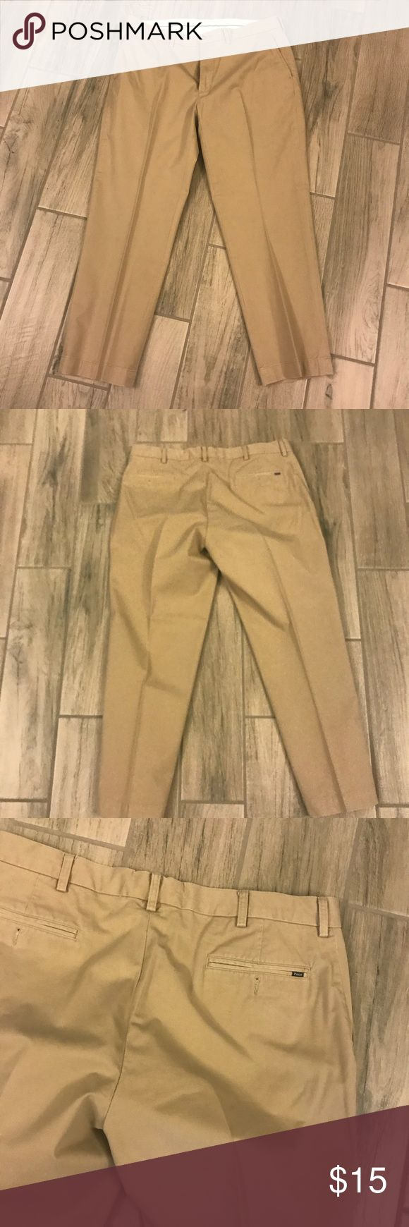 Polo Ralph Lauren men's pants size 38X30 Polo Ralph Lauren men's pants size 38X30 very good clean condition authentic non smoker no stains Polo by Ralph Lauren Pants Chinos & Khakis