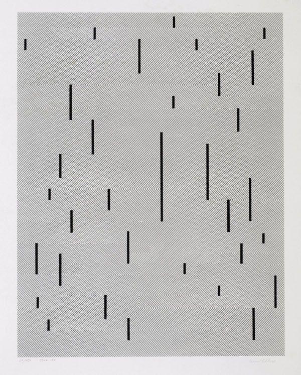 Anni Albers #monochromatic #screenprint