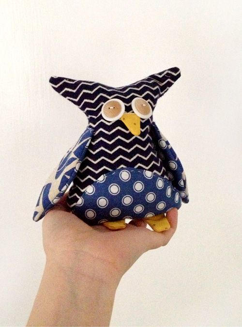 DIY Owl & Other Stuffed Animals