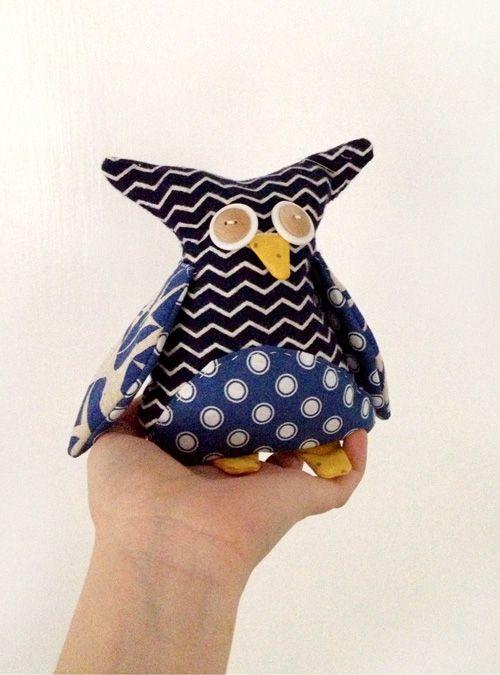 DIY Owl & Other Stuffed Animals