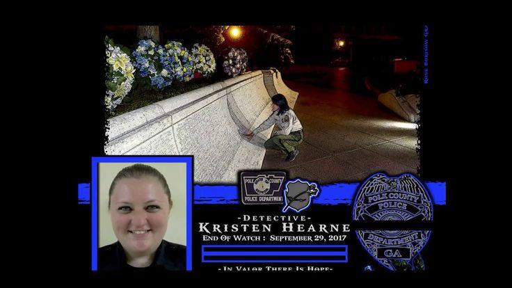 Police Detective Kristen Hearne Memorial