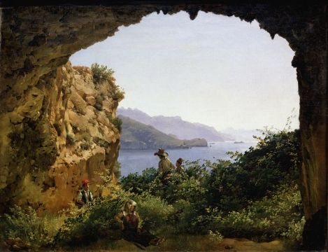 Sylvester Shchedrin Feodosievich - Matromanio Grotto on the island of Capri in 1827