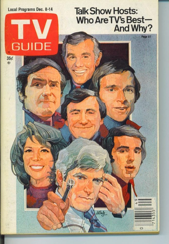 TV GUIDE 12-8-1979 CHARLOTTE RAE~TALK SHOW HOSTS~30 MINUTES~CHICAGO EDITION