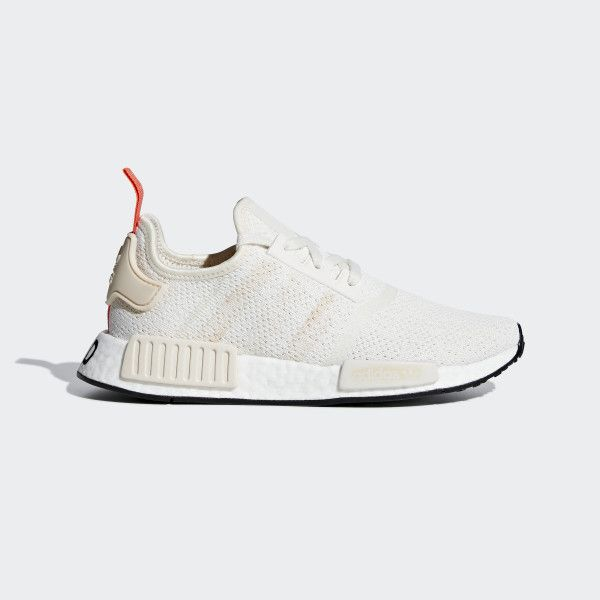 Nmd R1 Shoes Chalk White Linen Core Black G27938 Nmd