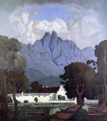 Stellenbosch, by Pierneef