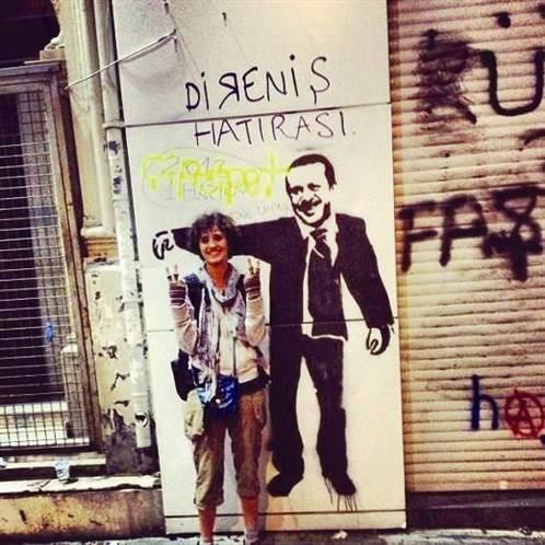 we are still smiling - #geziyegeziyekazanacagiz #direngeziparkı #occupygezi #GeziİçinTaksime #ayagakalk