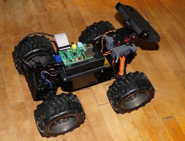 WebRTC Creeper Drone – Browser Controlled RC Car  This is an advanced Instructable, which describes the process of building a drone controlled remotely from a browser. The drone uses an Android phone to stream video and audio back  for more detail: http://projects-raspberry.com/webrtc-creeper-drone-browser-controlled-rc-car/ like and share: Raspberry Pi Projects and Resources keep visiting: http://projects-raspberry.com/ #thearduinoshop
