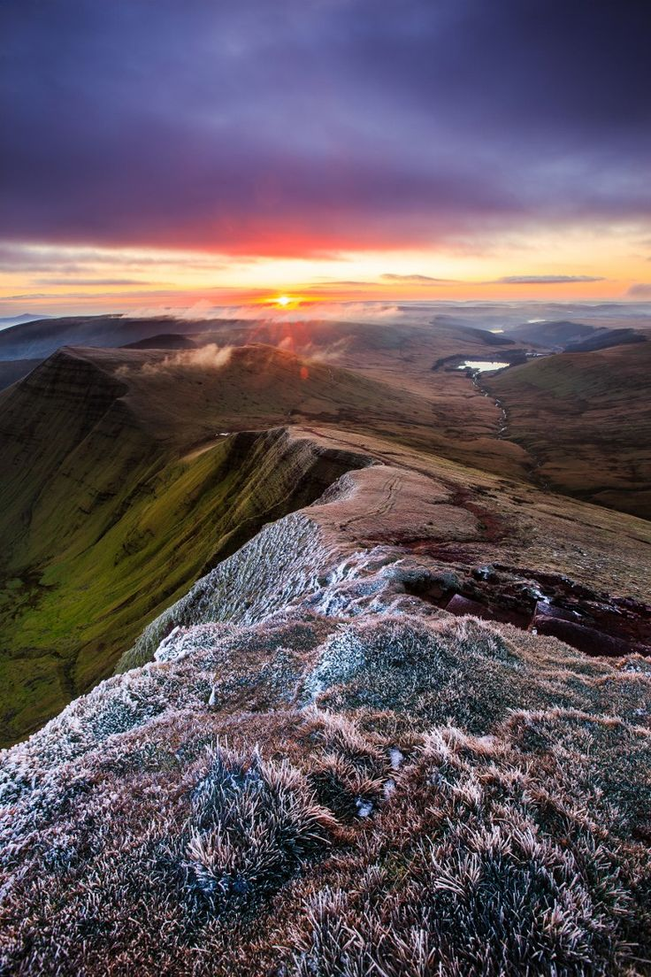 Frost, Brecon Beacons, Wales, UK - by Misael Furon, on 500px.