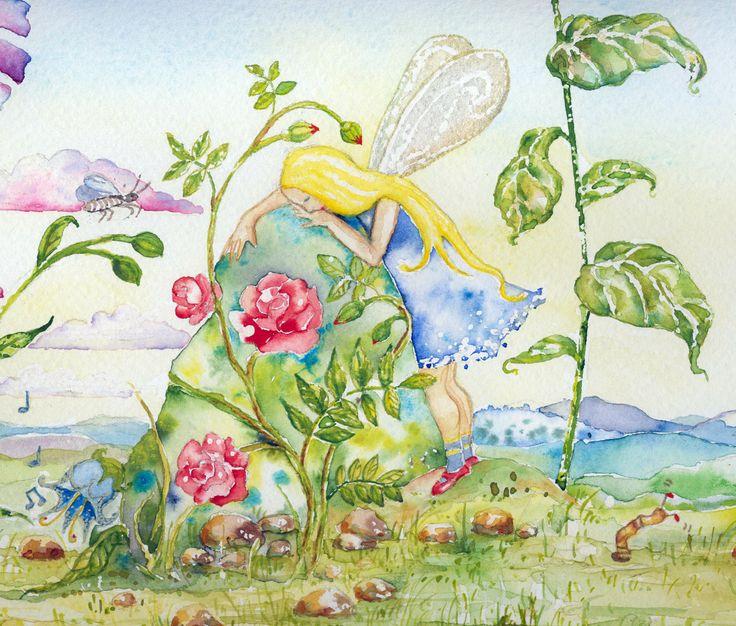 Kaipaus-Akvarelli