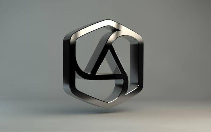 appcom interactive & marketing |3D logo |logo | silver | corporate identity | branding