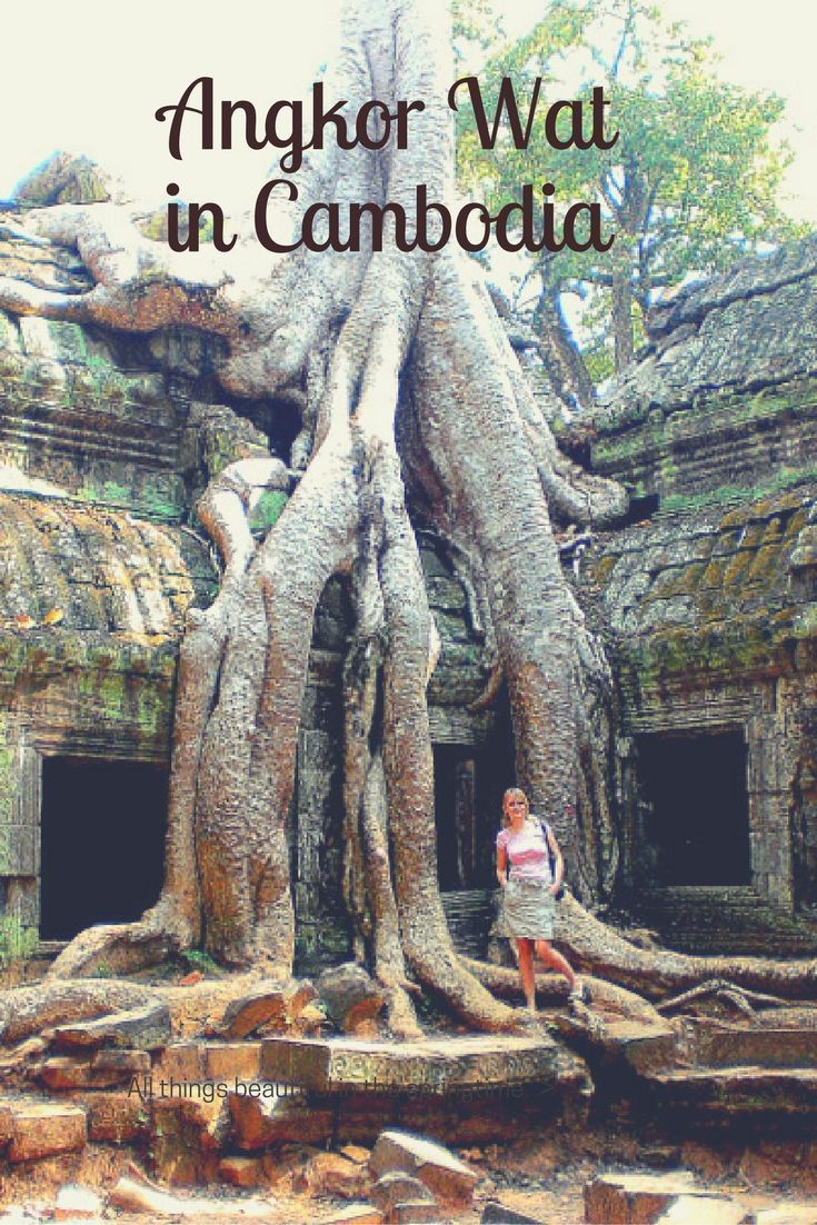 Read about the most beautiful temples of Angkor Wat in Cambodia: Sacred…