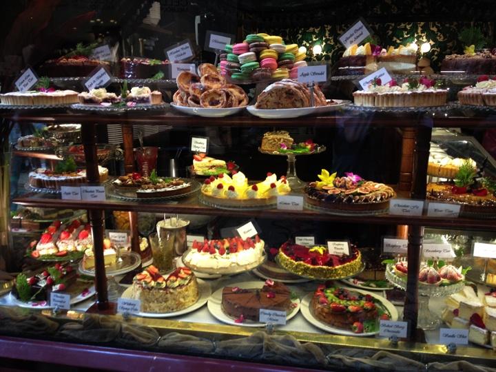 Cakes from Hopetoun Tea Rooms - Block Arcade MELBOURNE