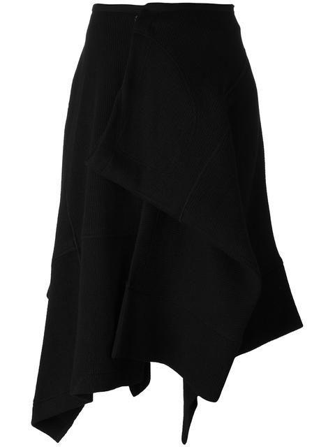 YOHJI YAMAMOTO wrap asymmetric skirt. #yohjiyamamoto #cloth #アシンメトリーラップスカート
