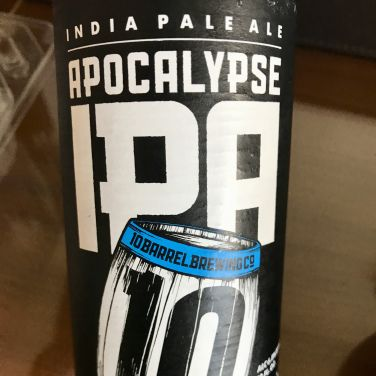 Apocalypse IPA - Barrel 10 (Portland, OR)