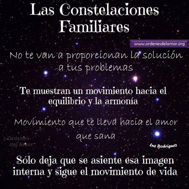 Las constelaciones familiares.