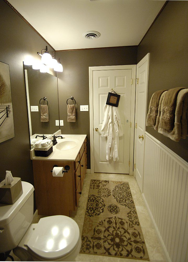67 Best Cabin Bathroom Decor Images On Pinterest