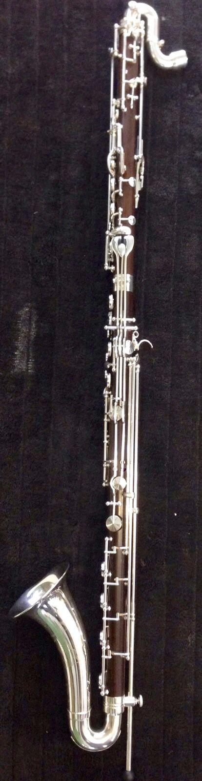 Fertig ist eine edle Bassklarinette mit einem Wunderschönen Klang.