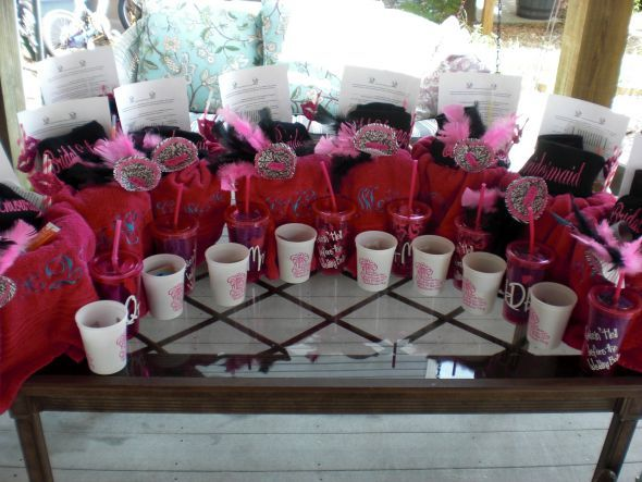 Survival Kits for the Bachelorette Party!! :  wedding bachelorette bridesmaids diy survival kits CIMG2393