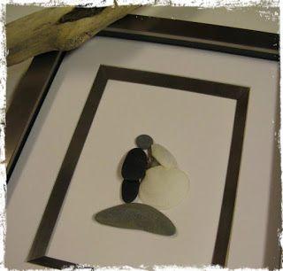 M s de 1000 im genes sobre arte con piedras en pinterest - Cuadros con piedras ...