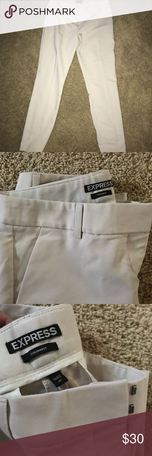 "I just added this listing on Poshmark: Khaki Colored ""Columnist"" Dress Pants - Express. #shopmycloset #poshmark #fashion #shopping #style #forsale #Express #Pants"