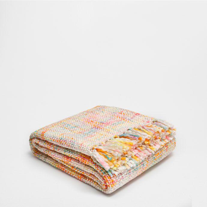 ORANJE GROVE TRICOT DEKEN - Dekens - Decoratie | Zara Home Holland