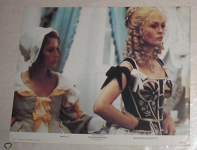 1975 The Four Musketeers Lobby Card 2 Sexy Faye Dunaway | eBay
