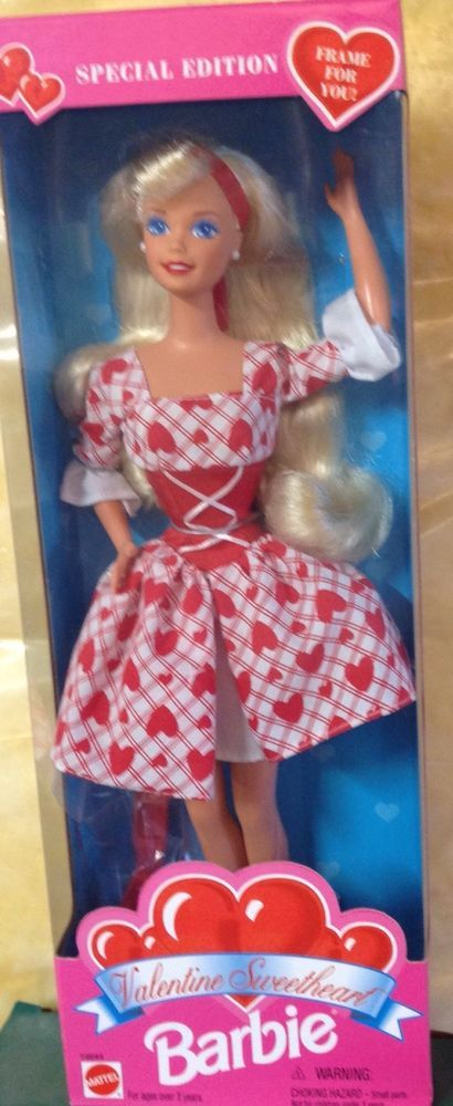 Barbie Doll Valentine Sweetheart 1995 Mattel Special Edition #14644 #Mattel #DollswithClothingAccessories