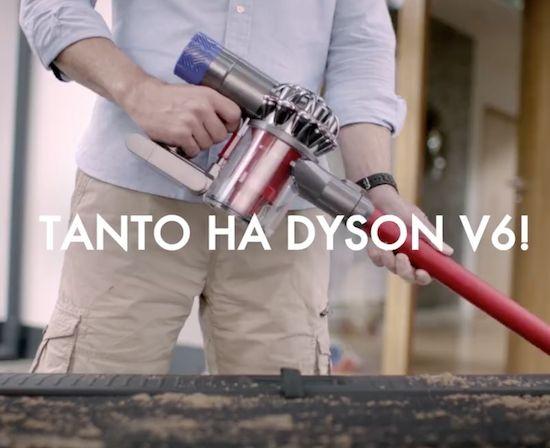 Dyson V6 - Tempo di vacanze, tutti al mare! - http://www.complementooggetto.eu/wordpress/dyson-v6-tempo-vacanze-tutti-al-mare/