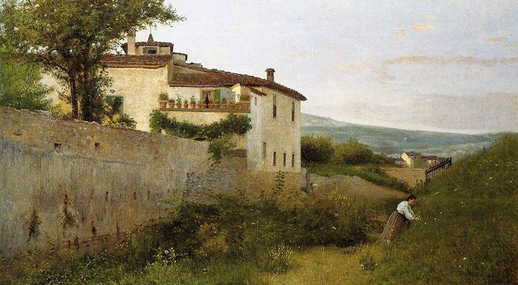 Silvestro Lega- Piagentina -1863