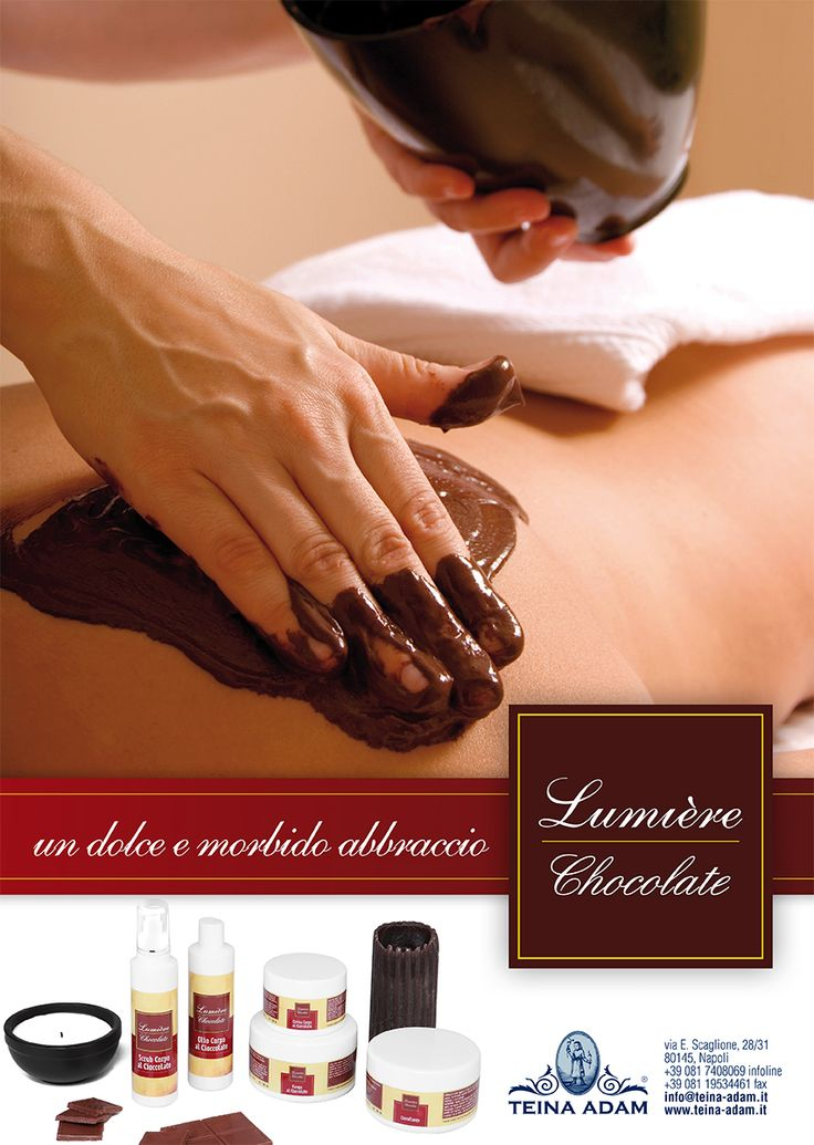 Lumière Chocolate | un dolce e morbido abbraccio. www.teina-adam.it