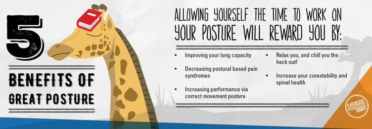 5 benefits of great posture #posture #breathing #exerciseright #benefits #health #wellbeing #yoga #exercisephysiology #infographic