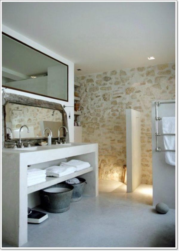 42 Ideas for the Perfect Rustic Bathroom Design