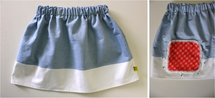 TUTORIAL: Heirloom Skirt with Pockets and chunky buttons | MADE: Tutorials, Sewing Projects, Skirts, Heirloom Skirt, Pockets, Chunky Buttons