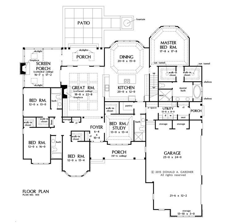 Best 25 5 bedroom house plans ideas only on Pinterest 4 bedroom