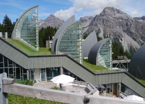 ZinCo GmbH - Project - Green Roof – Tschuggen Grand Hotel