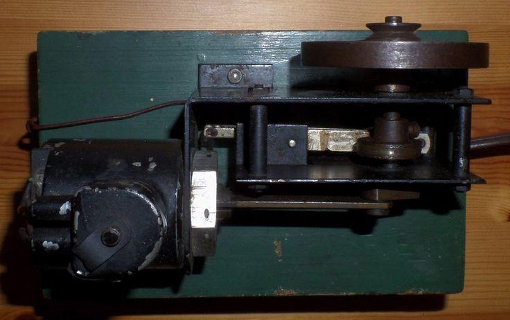 uriges VORKRIEG MSM MAGNET LEHRMODELL 1 DRGM MOTOR wie Dampfmaschine Modell rar | eBay