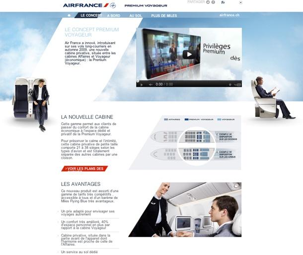 Site Aifrance Premium Voyageur