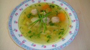 Zeleninová letná polievka s drožďovými guličkami (fotorecept) - obrázok 10