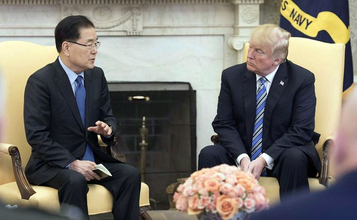 Trumps Abrupt Yes to North Korea: The 45 Minutes That Could Alter History
