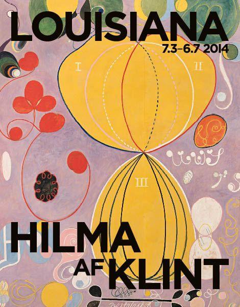 Hilma af Klint #louisianamuseum #poster #hilmaafklint